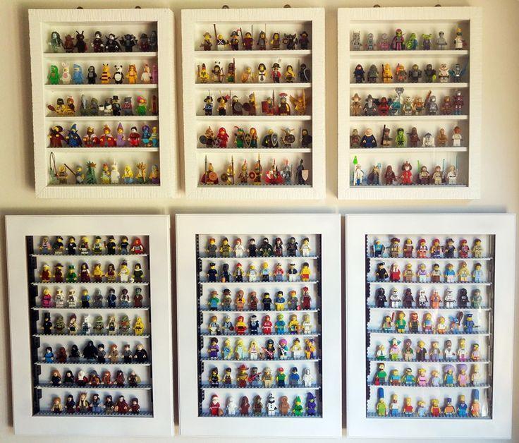 DIY LEGO Display Case