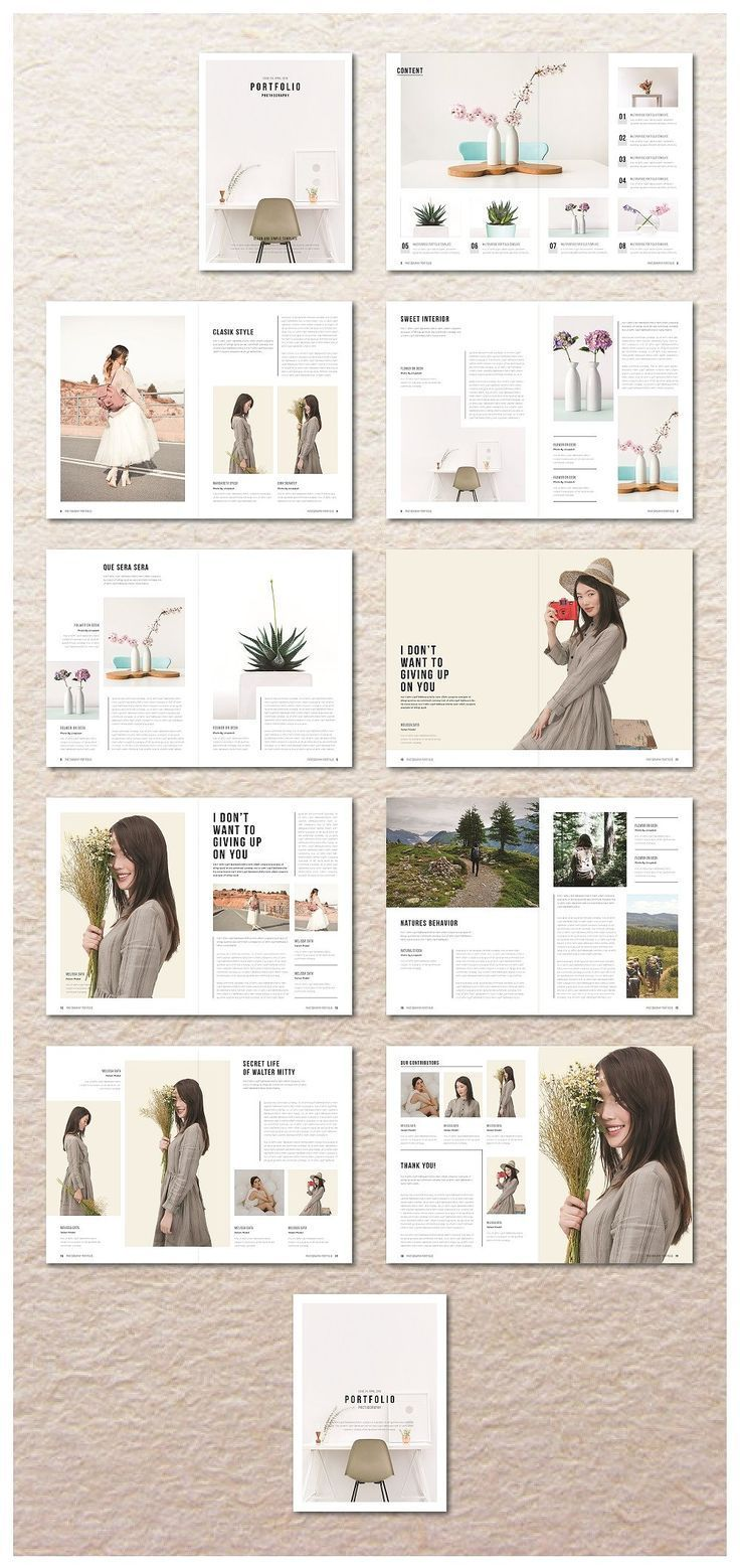 Portfolio Magazine by MA-KING_ART on Creative Mark…