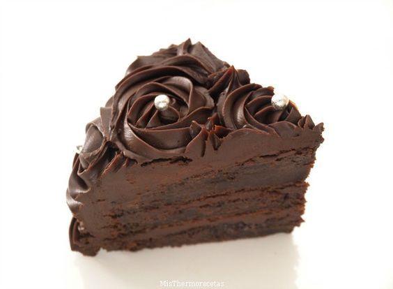 Tarta extra de chocolate - MisThermorecetas.com