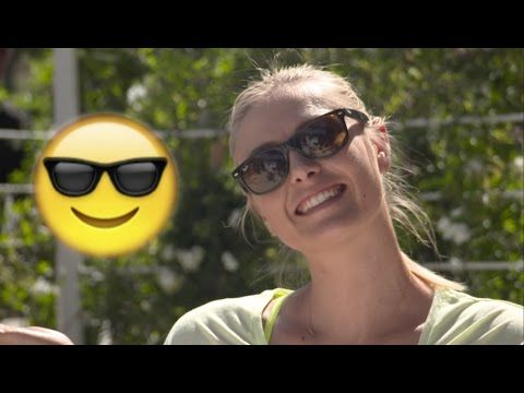 WTA Emoji Challenge | Serena, Sharapova, Halep, Ivanovic & more take the Emoji Challenge! What player made your favorite?