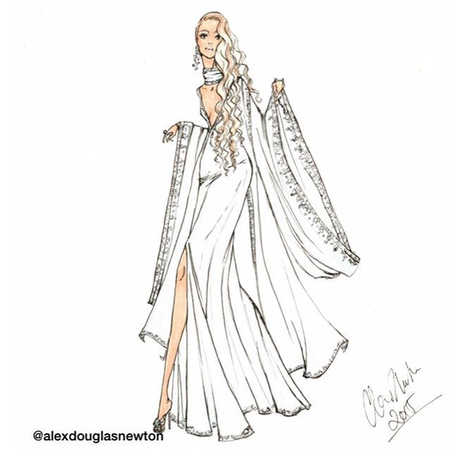 The perfect dress for a wedding guest #weddingguest #whattowear #bluegown #kimonosleeves #flowinggown #womanindress #chiffondress #chiffon #blondewoman #bohowedding #bohochic #bohostyle