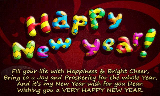 Happy New Year Messages 2018