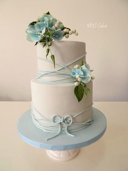 hydrangea wedding cake designs 1000 ideas about baby blue weddings on pastel 16218