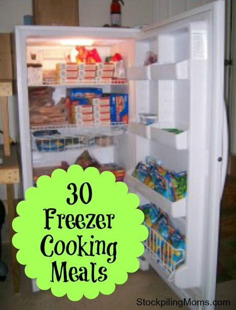 30 Freezer Cooking Meals that will save you time and money