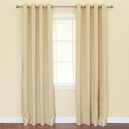 Best Home Fashion Solid Grommet Top Thermal Insulated Blackout Curtain, 84-Inch Length by 52- Inch, Beige Best Home Fashion http://www.amazon.com/dp/B0026SA8LK/ref=cm_sw_r_pi_dp_PPRSub1XC24X6