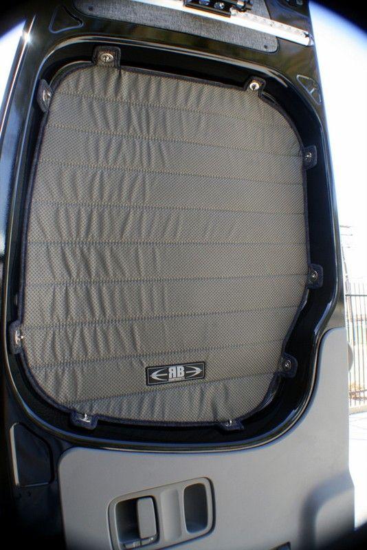 2007 2018 Sprinter Van Rear Door Window Shade Kit Rvs