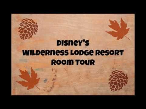 Walt Disney World's Wilderness Lodge Resort Room Tour - makes me want to be there now!