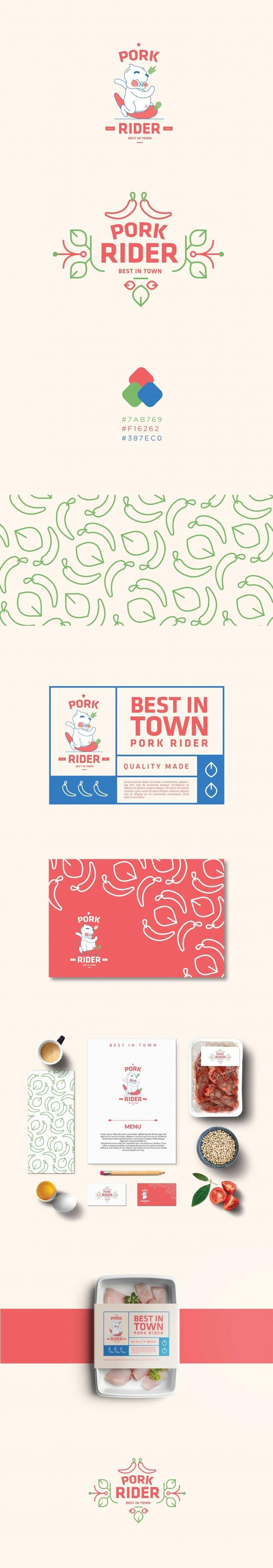 Pork Rider. Branding | Kreavi.com