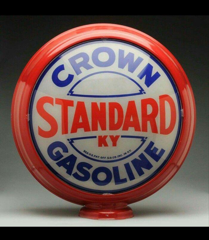 Standard Oil of Kentucky Gas Globe