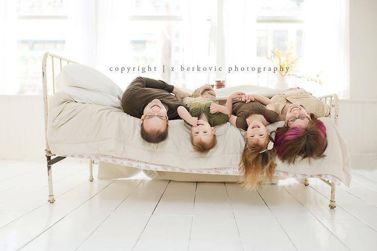 love this family portrait from Zoe Berkovic
