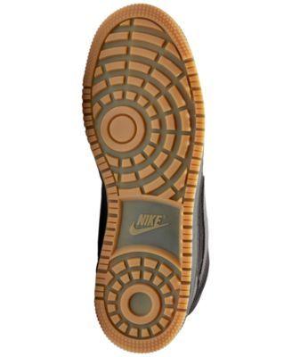 2e28066fb39951 Nike Men s Ebernon Mid Winter Casual Sneakers from Finish Line - Black 10.5