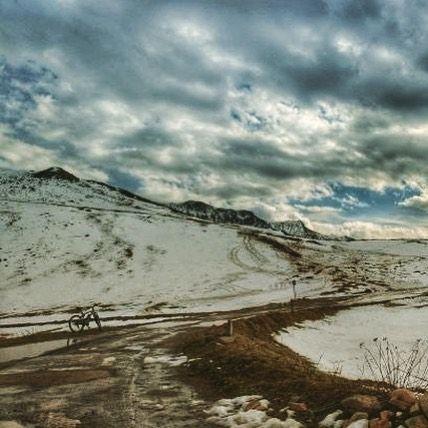Ve kış geldi  @mustfa.varli teşekkürler #kar #kış #manzara #bisiklet #bisikletturu #bubisiklet #mersinbisiklet #bisikletkeyfi #bisikletaşkı #bicycle
