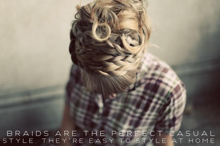 Maiden Braids tutorial from Elsie Larson / A Beautiful Mess #hair #updo