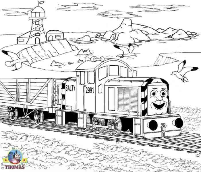 13 besten 13 Thomas The Train Coloring Pages Bilder auf Pinterest ...