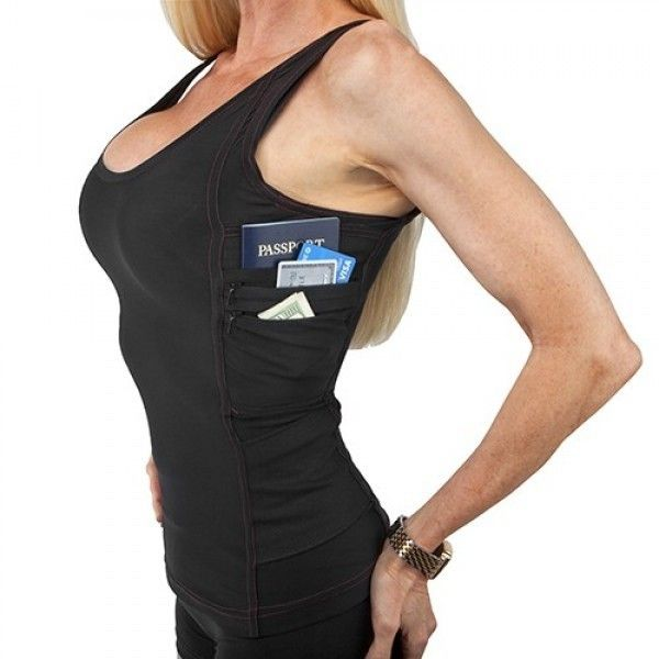 Undertech womens concealment top Black and in small!
