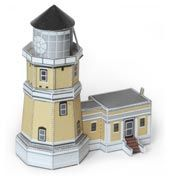 Split Rock Lighthouse 1:300 scale model of the picturesque lighthouse on Lake Superior's North Shore