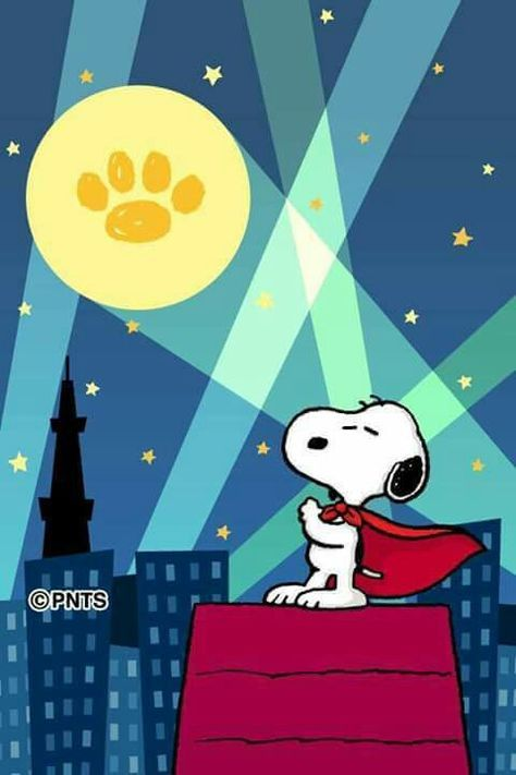Snoopy sees what he looks for (so do I!)...
