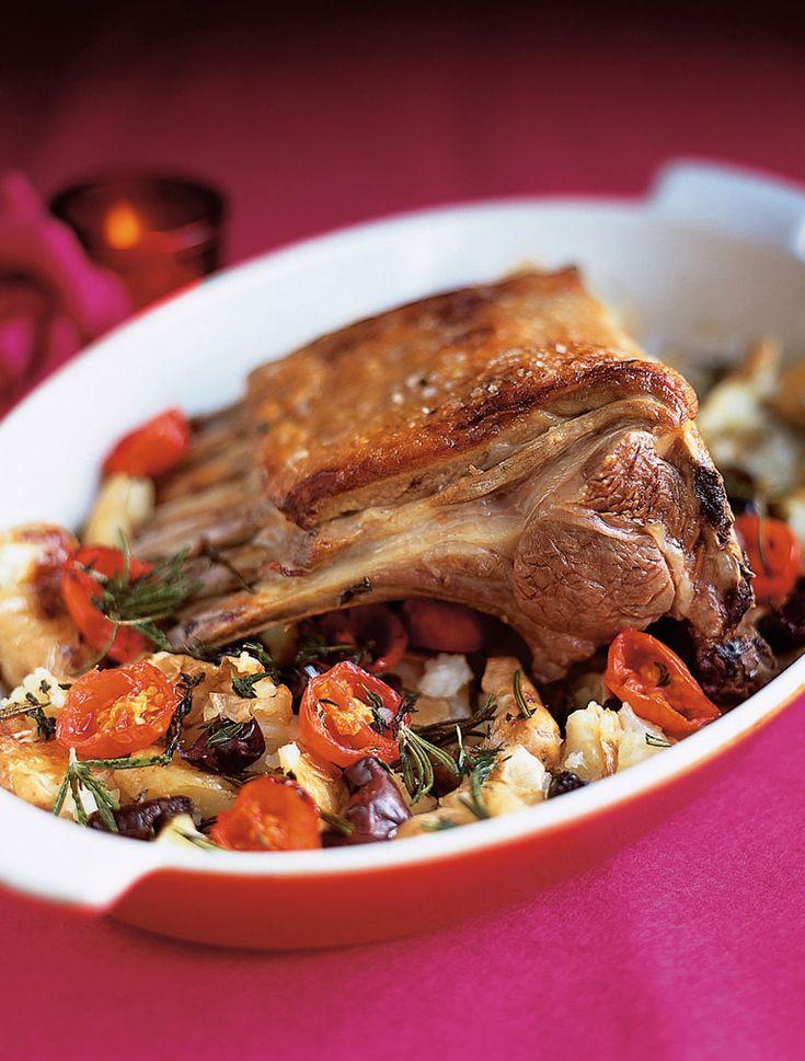 roast rack of lamb with crushed potatoes | Jamie Oliver | Food | Jamie Oliver (UK)