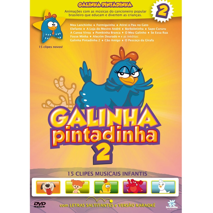 DVD - Galinha Pintadinha 2 - Extra.com.br - $21.28 (+ 5.04 do frete)