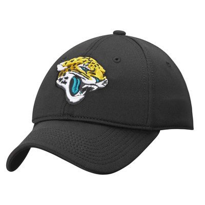 Jacksonville Jaguars NFL Pro Line Rushmore Stretch Fit Hat - Black