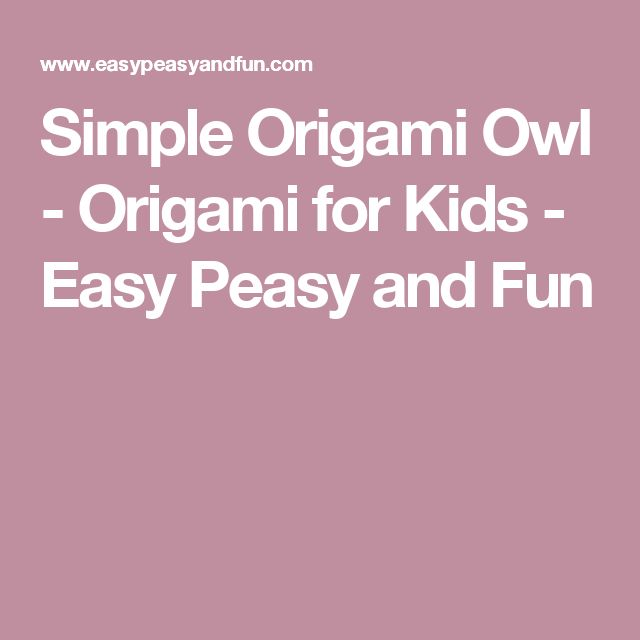 simple origami owl instructions