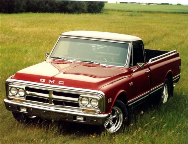 1970 GMC. Maintenance/restoration of old/vintage vehicles: the material for new cogs/casters/gears/pads could be cast polyamide which I (Cast polyamide) can produce. My contact: tatjana.alic@windowslive.com