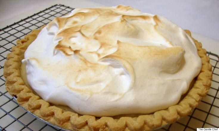 aquafaba lemon meringue pie