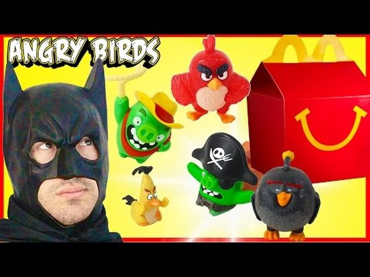 2016 The Angry Birds Movie McDonalds Complete Set Happy Meal Toys Batman Review Kids Games trailer - - VIDEO: 2016 The Angry Birds Movie McDonalds Complete Set Happy Meal Toys Batman Review Kids Games trailer - http://ift.tt/294IEMX
