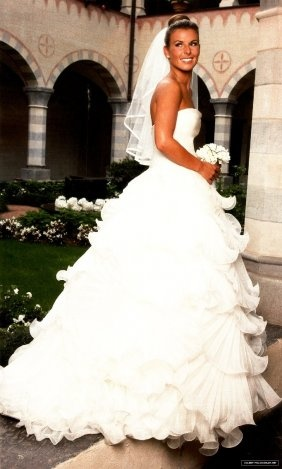 Michelle marsh wedding dress