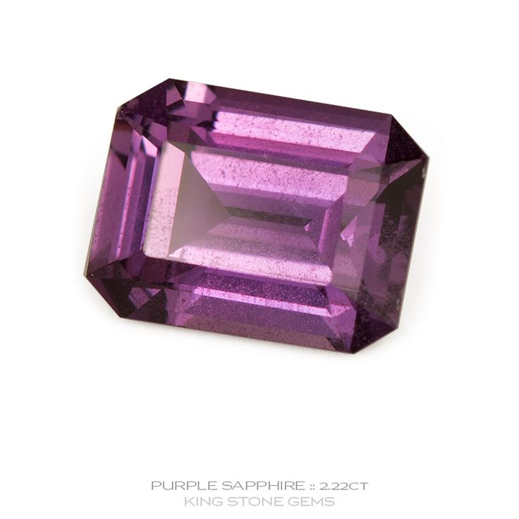 Sri Lankan Purple Sapphire 2.22ct | KING STONE GEMS