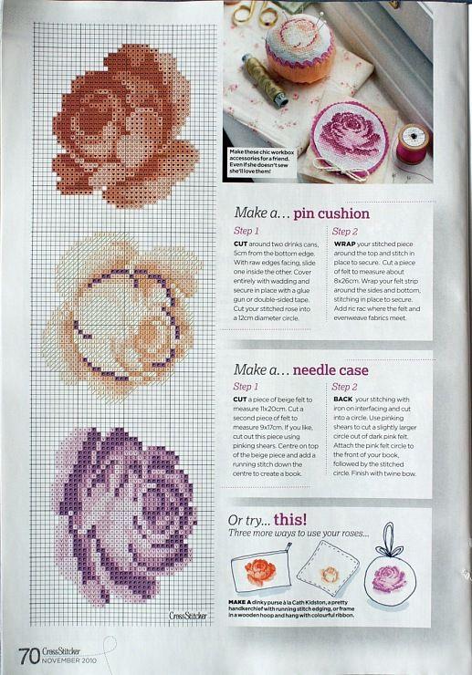 Gallery.ru / Фото #75 - разные цветочные схемы - irisha-ira