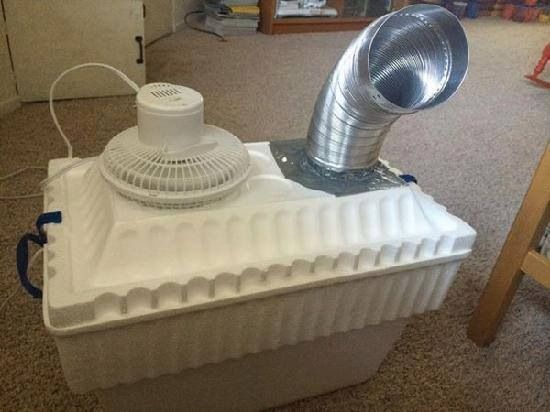Redneck air conditioner