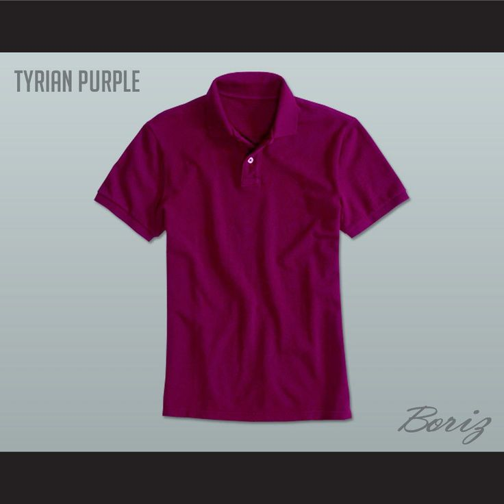 "Men's Solid Color Tyrian Purple Polo Shirt. I HAVE ALL SIZES(Width of your Chest)+(Width of your Back)+ 4 to 6 inches to account for space for a loose fit.Example: 18"" wide chest plus 18"" wide back plus 4"" of space, would be a size 40"".size chart chest:XS 30""-32"" Chest Measurement (76-81 cm)S 34""-36"" Chest Measurement (86-91 cm)M 38""-40"" Chest Measurement (97-102 cm)L 42""-44"" Chest Measurement (107-112 cm)XL 46""-48"" Chest Measurement (117-122 cm)2XL 50""-52"" Chest Measurement (122-127..."