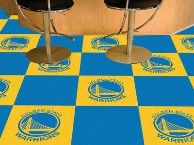 NBA   Golden State Warriors Carpet Tiles