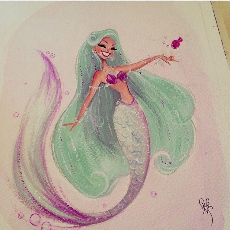 Mermaid by Liana Hee.                                                                                                                                                                                 Mais