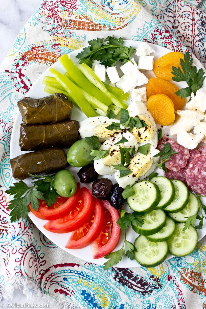A full Turkish breakfast is a delicious (and healthy) way to start the day! #glutenfree #paleo