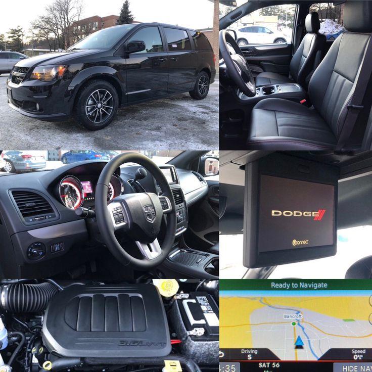2019 Brilliant Black Crystal Dodge Grand Caravan Gt Nav Dvd Htd Seats Leather Backup Cam Park Assist Stock 19091 Click Grand Caravan Dodge Caravan