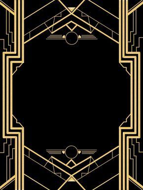 great gatsby invitation templates blank party throwin in 2018