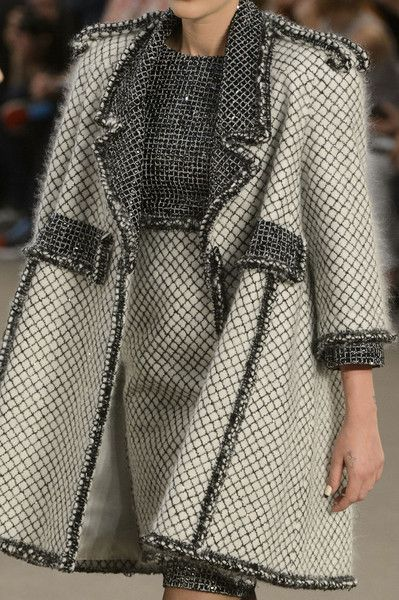 Chanel at Couture Fall 2015 - Details Runway Photos