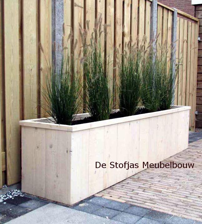 tuin borders van hout