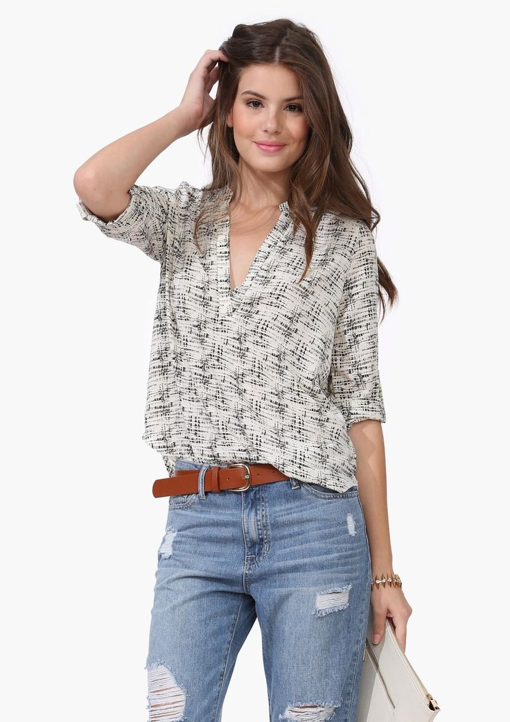 Summer Party Blouse