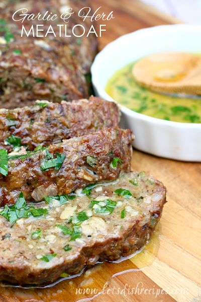 Let's talk about meatloaf. It's one of those things that can be really good, or really, really bad.If you've ever had some bad meatloaf,