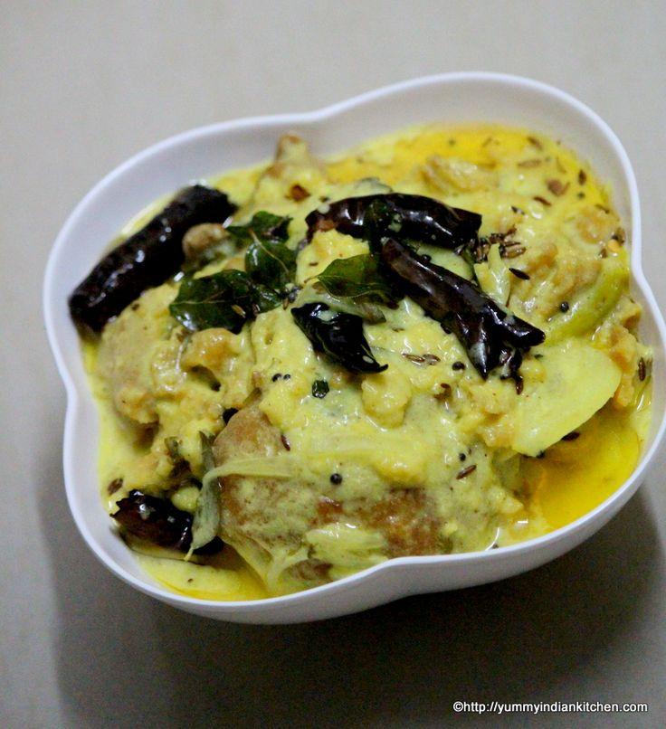 Dahi Kadhi recipe is a Hyderabadi style or hyderabadi version of making dahi ki kadhi which is made by using dahi/yogurt and mixing chick pea flour into it. #besankadhi #dahikadhi #kadhi #vegrecipes