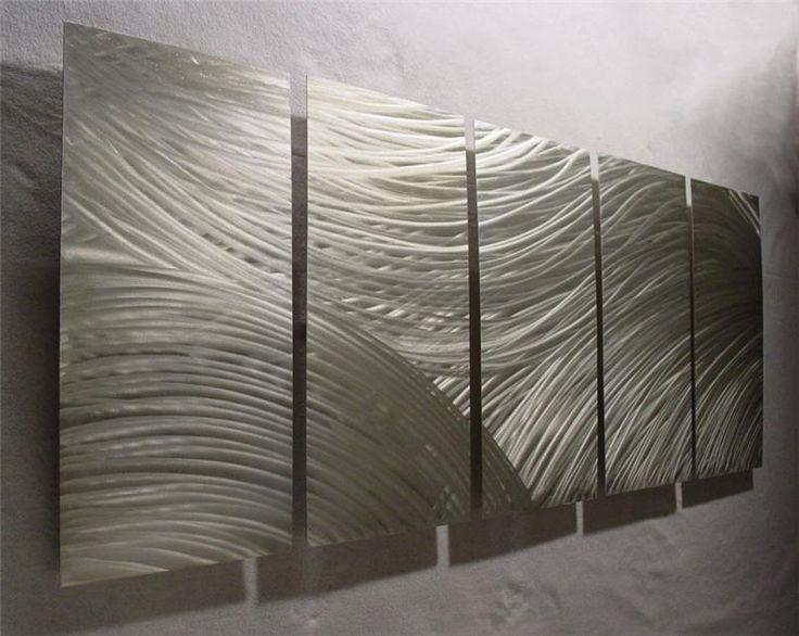 Image Of: Modern Metal Wall Art