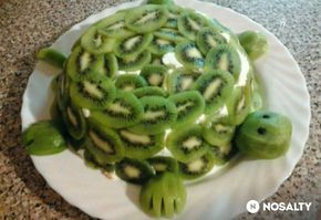 Teknős torta túróval