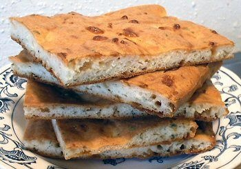 Carbquik artisan flatbread or buns. Carbquik is a low-carb baking mix you can buy online. This bread is rich due to the cream cheese, and deeply savory.