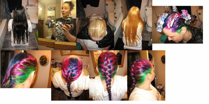 How to Rainbow your hair with Splat. Thanks for posting Tatum =)