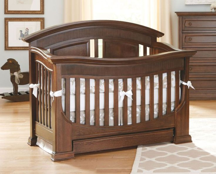 Baby Appleseed Chelmsford Crib Reclaimed wood wall