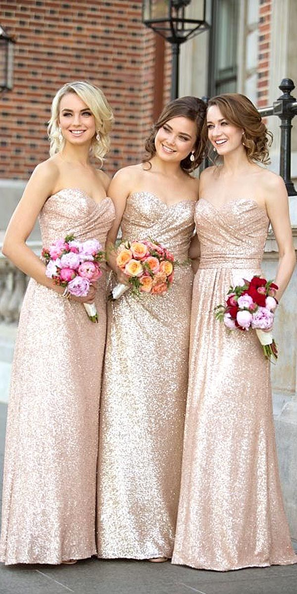modern glam bridesmaid dresses 6