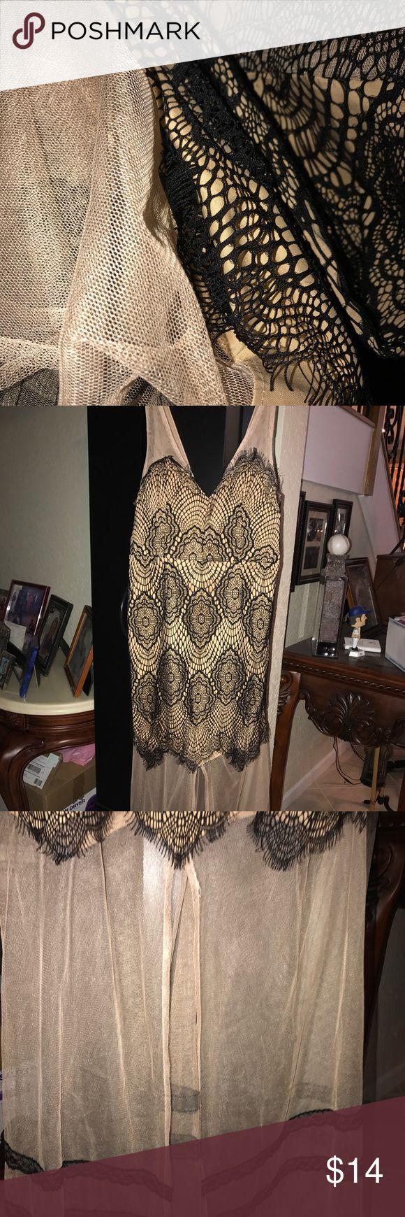 Black & Nude maxi dress Vintage fitted dress Dresses Maxi